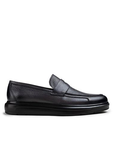 Deery Hakiki Deri Ayakkabı Gri